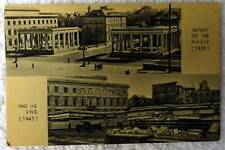 POSTCARD HEYDAY OF THE NAZIS 1939 AND THE END 1947 #se4