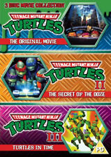 TEENAGE MUTANT NINJA TURTLES THE MOVIE COLLECTION dvds SEALED/NEW 3 Films 1 2 3