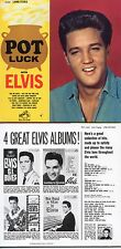 CD ALBUM Elvis PRESLEY Pot Luck (1962) - Mini LP REPLICA - 12-track CARD SLEEVE