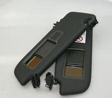 Audi A7 A6 4G 2x Parasol Negro 4G0857551 4G0857552 Original 3910