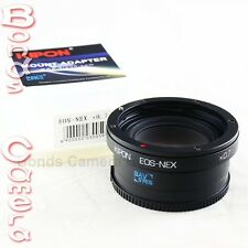 Kipon Baveyes 0.7x Optic Reducer Adapter Canon EOS EF Mount Lens to Sony NEX 7 6