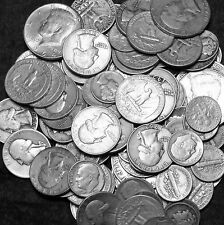 1/2 OZ US 90% SILVER COIN LOT- FREE SHIPPING-