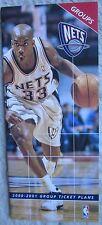 Stephon Marbury on NJ Nets 2000-01 Group Ticket Plan Brochure Great Display