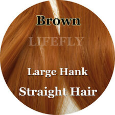 Brown Color, Straight Syn. Hair, Fibre Fly Tying Bucktail Jig Lure Making Craft