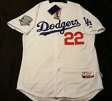 MAJESTIC AUTHENTIC SIZE 52 2XL LOS ANGELES DODGERS, C. KERSHAW Cool Base Jersey