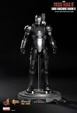HOT TOYS WAR MACHINE MARK II DIECAST IRON MAN 3 1/6 FIGURE MARVEL 1° STAMPA HK