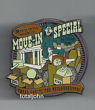 Disney DLR O'Pin House Kick Off Event Goofy Move-In Special Pin Haunted Mansion