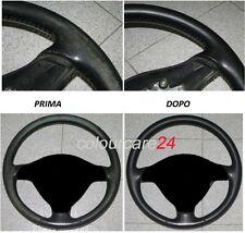 Kit Rigenera Colore Volante Pelle Alfa Romeo NERO L Ritocco Pulizia Interni GT