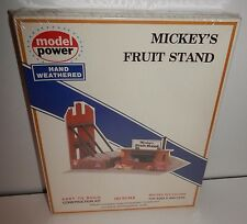 Model Power HO Scale Mickey's Fruit Stand #476 NIB