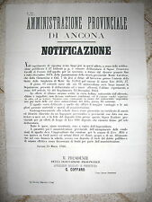 Z909-MARCHE-ANCONA-MONTE CAROTTO ECC... MANUTENZIONE STRADE