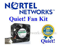 Quiet replacement fan for Nortel BayStack 470 24T/48T Best for Home Networking!