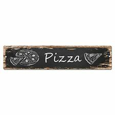 SP0029 Pizza Street Sign Bar Store Shop Cafe Home Kitchen Shabby Chic Decor