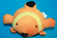 "Orange Yellow Plush Stuffed CLOWN FISH 8"" Soft Toy 2009 Zoomania One Stop Shop"