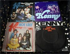 Kenny * 6 Singles UA Julie Anne * HOT LIPS * FANCY PANTS * Red Headed LADY