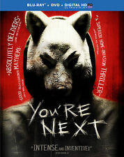 You're Next (Blu-ray/DVD, 2014, 2-Disc Set, Includes Digital Copy; UltraViolet)