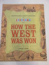 How The West Was Won Original Film Programme, 1962, cast list, photos etc