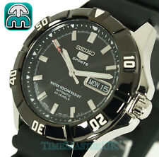 SEIKO 5 Sports Men's Automatic Divers Style 100m Rubber Strap SNZD17J1