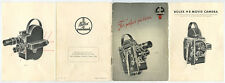 VINTAGE PAILLARD BOLEX H8 8MM MOVIE CAMERA MANUAL