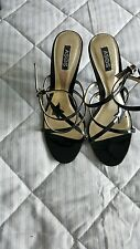 ladies size 4 asos strappy heeled sandals