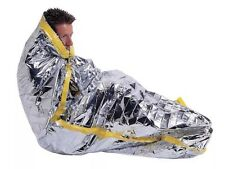 Mylar Emergency Thermal Solar Sleeping Bag Survival Prepper Bug Out Bag Camping