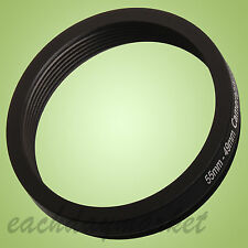 55mm to 49mm 55-49mm 55mm-49mm 55-49 Stepping Step Down Filter Ring Adapter