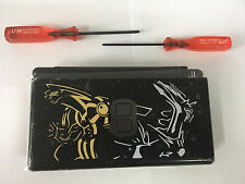 Full Housing Shell Case Replacement for Nintendo DS Lite NDSL Black Pokemon