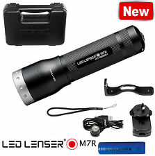 LED LENSER M7R USB Rechargeable Multi-function Torch 400 Lumens In GIFT BOX