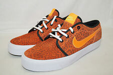 Nike TOKI LOW low leather Gr.42,5 UK 8 orange 599452-810 SAMPLES animal print