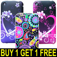 For Apple iPhone 3 3g 3gs Soft Skin Tpu Silicone Gel Case Cover