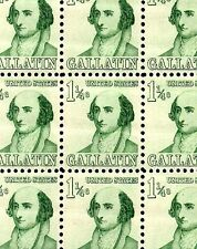 1965 - ALBERT GALLATIN - #1279 Full Mint -MNH- Sheet of 100 Postage Stamps