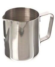 Coffee Barista Espresso Steam Milk Stainless Steel 12 Oz Frothing Pitcher, EP-12
