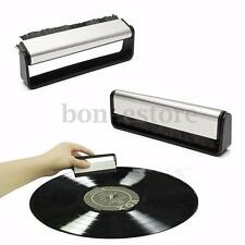 Professional Anti-Static Vinyl Record Cleaning Cleaner Pad Brush Audio Stylus