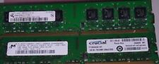 2GB =2x1GB 2Rx8 PC2-5300U DDR2667 240PIN FOR Dell Optiplex DESKTOP 755 760 160