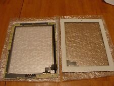 WHITE Screen Glass Digitizer Apple iPad 2 Pre-taped w/Home Button SHIPS FROM USA