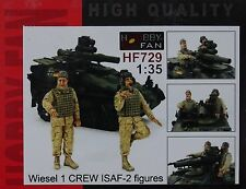 HOBBY FAN® HF729 Bundeswehr ISAF Crew for Wiesel (2 Figuren) in 1:35