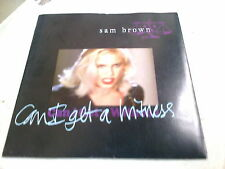 "SAM BROWN - CAN I GET A WITNESS - 7"" SINGLE - PICTURE SLEEVE"
