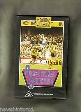 #JJ4,    AUSTRALIAN  RULES FOOTBALL  VHS VIDEO TAPE - SENSATIONAL  SEVENTIES