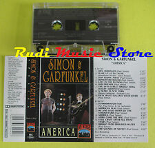 MC SIMON & GARFUNKEL America 1993 italy ON STAGE MC 12041 no cd lp dvd vhs