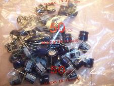 QTY (50)  470uf 35V (16x15) RADIAL ALUMINUM ELECTROLYTIC UVS1V471MCA NICHICON