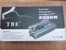 Convertisseur pure sinus 12 volt ou 24 volt de 2000 watt a 4000 watt NEUF