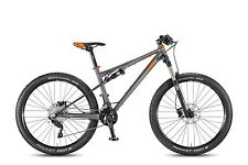 KTM MTB Fully Lycan 274 titangrau matt schwarz orange RH 43 2016