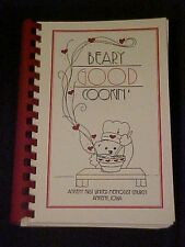 Beary Good Cookin', Ankeny First United Methodist Church Cookbook Iowa
