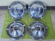 "1968 Chevrolet Hub Caps 14"" Set of 4 Chevy Wheel Covers 68 Hubcaps"