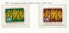 19051) UNITED NATIONS (New York) 1963 MNH** FAO