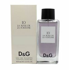 10 LA ROUE DE LA FORTUNE BY D&G EAU DE TOILETTE SPRAY 100 ML/3.3 FL.OZ. (T)