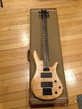 Zon Sonus 2009 4 string bass