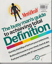 MEN'S HEALTH The Busy Man's GUIDE to Achieving Total DEFINITION Guide 4 OF 4.