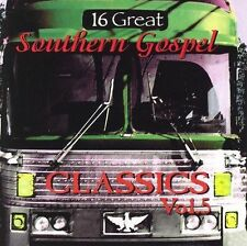16 Great Southern Gospel Classics, Vol. 5 by Various Artists (CD, Mar-2000,...
