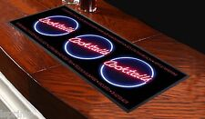 COCKTAIL NAMES PINK TEXT BAR RUNNER IDEAL FOR HOME COCKTAIL PARTY DECOR MAT