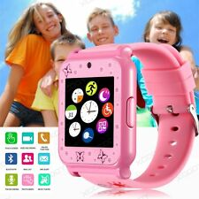 W90 Waterproof Bluetooth Kids Smart Watch Children Phone Mate+SIM GSM HD Camera